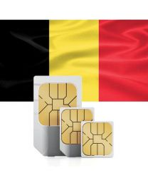 Belgium's flag Sim card for use in Belgium