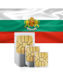 SIM card for use in Bulgaria