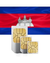 Cambodian flag Sim card for Combodia