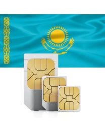 SIM card for Kazakhstan with fast mobile Interne