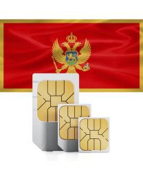 SIM card for Montenegro with fast mobile internet & calling.
