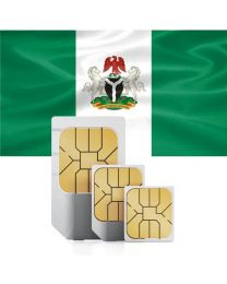 Nigerian flag data SIM card for Nigerians
