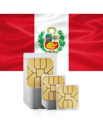 SIM card for Peru with fast mobile internet & telephony