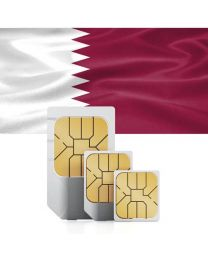 SIM card for Qatar with fast mobile internet