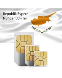 SIM card for Cyprus (EU Member State) with fast mobile Internet & calls