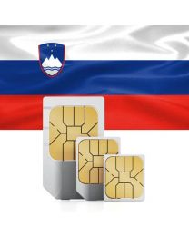 SIM card for Slovenia with fast mobile internet & telephony