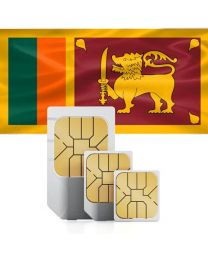 SIM card for use in Sri Lanka