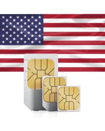 SIM card for USA and Puerto Rico with fast mobile Internet & telephony