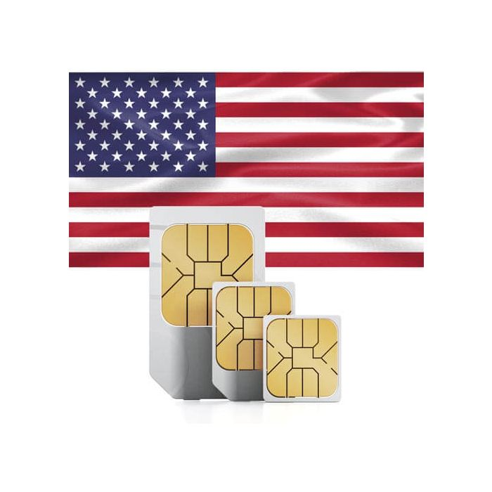 Sim Card For The Usa And Puerto Rico