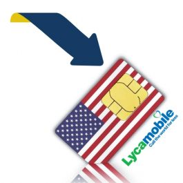Recharge your credit or option of your Lycamobile SIM card