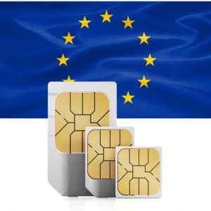 SIM card for the European Union (incl. Switzerland)